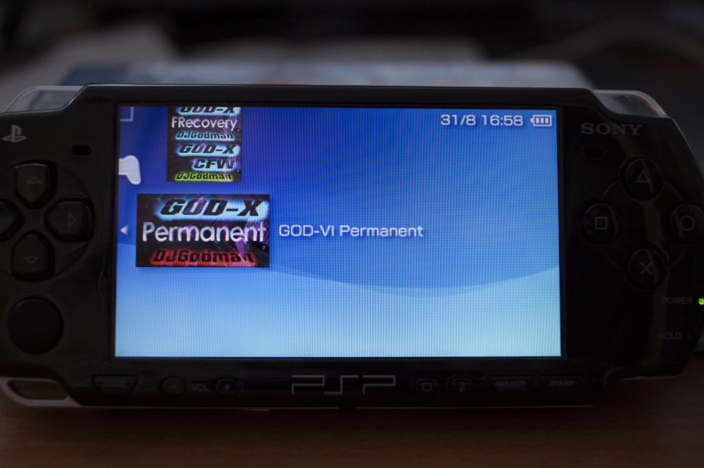 Hack any Sony PSP without a Pandora Battery