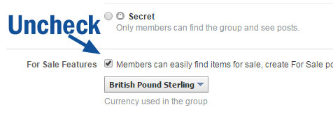 """How to remove the """"Sell Something"""" feature from Facebook"""